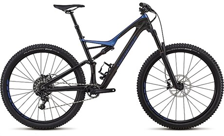 Specialized Cykel, Stumpjumper Comp Carbon 29/6Fattie 2018, Svart/Blå