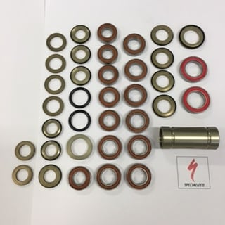 Specialized Lager, Stumpjumper Alu/Carbon 2016-2017 Bearing KIT