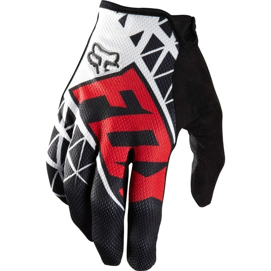 Fox Handske, Demo Glove, Svart/Röd