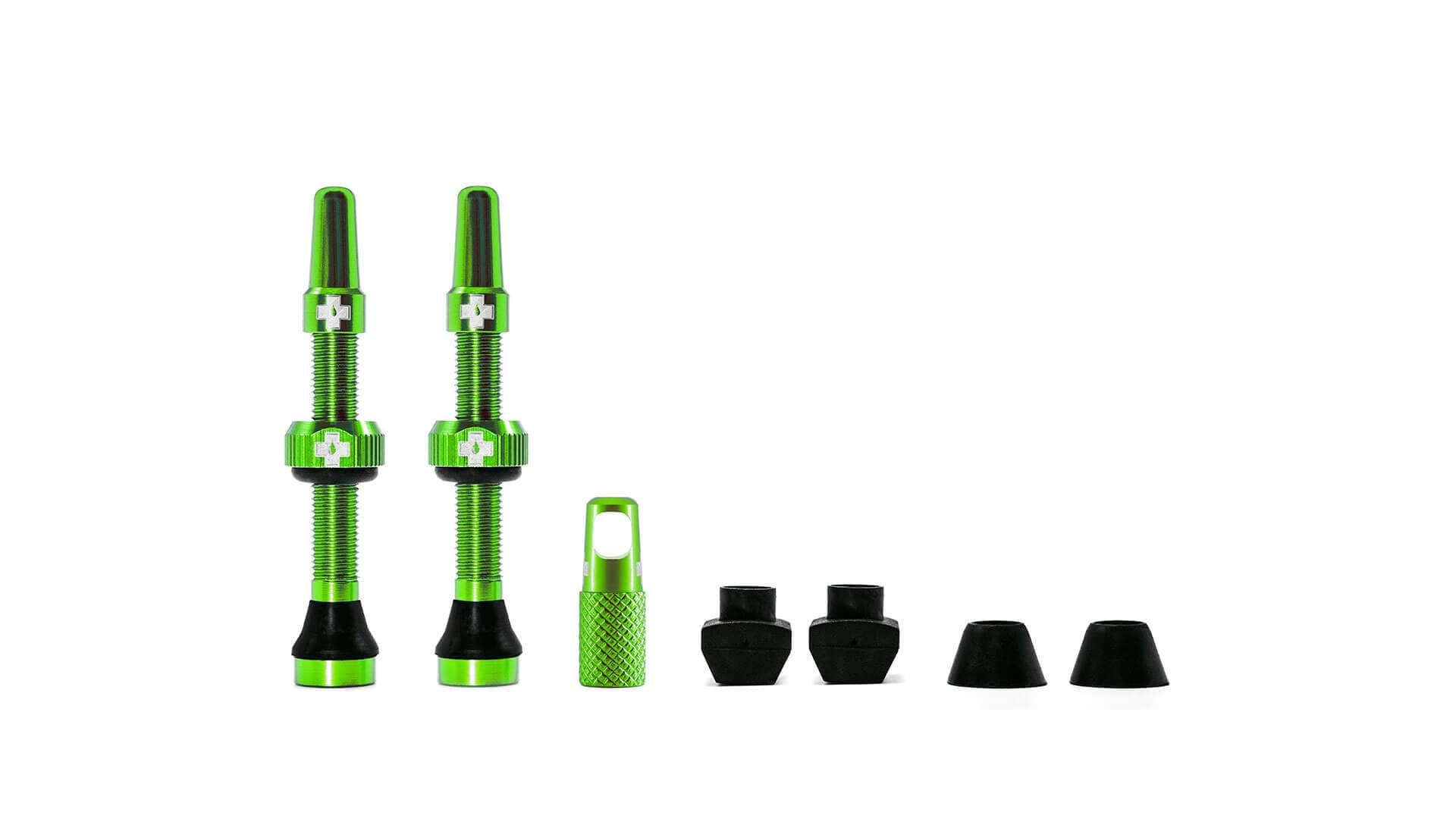 Muc-Off Ventil, Tubeless Valve Kit, Green