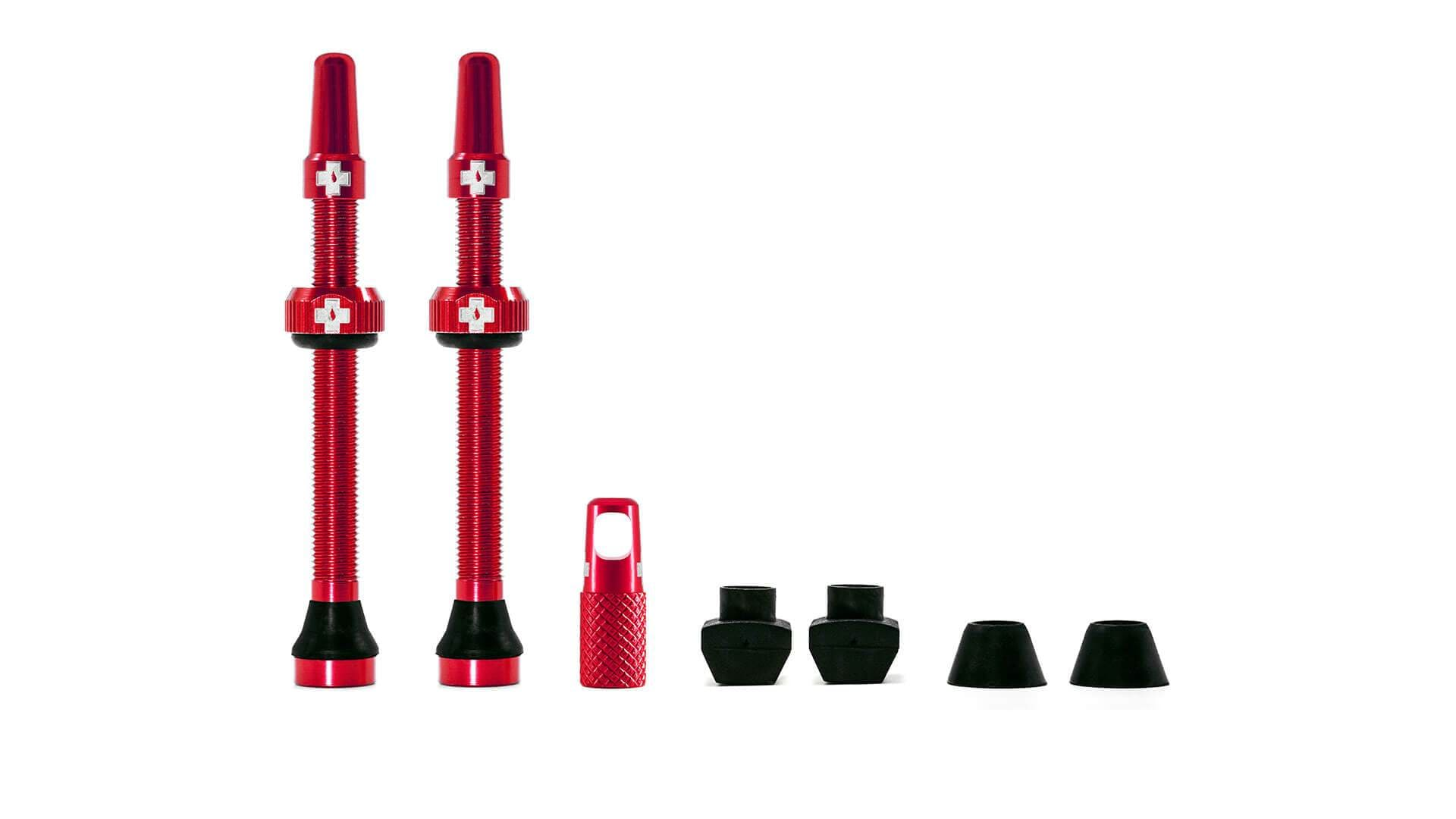 Muc-Off Ventil, Tubeless Valve Kit, Red