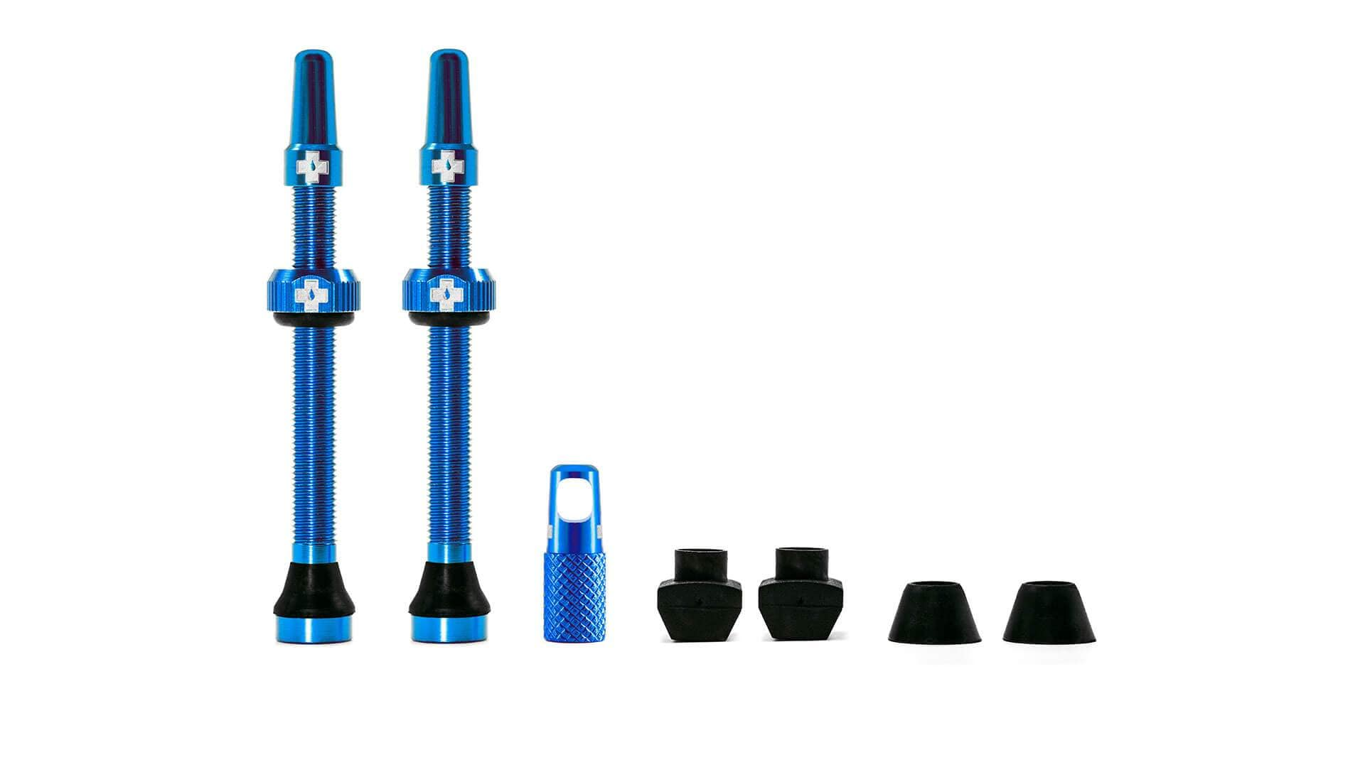 Muc-Off Ventil, Tubeless Valve Kit, Blue
