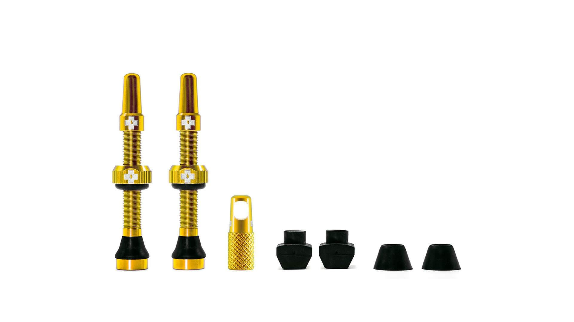 Muc-Off Ventil, Tubeless Valve Kit, Gold