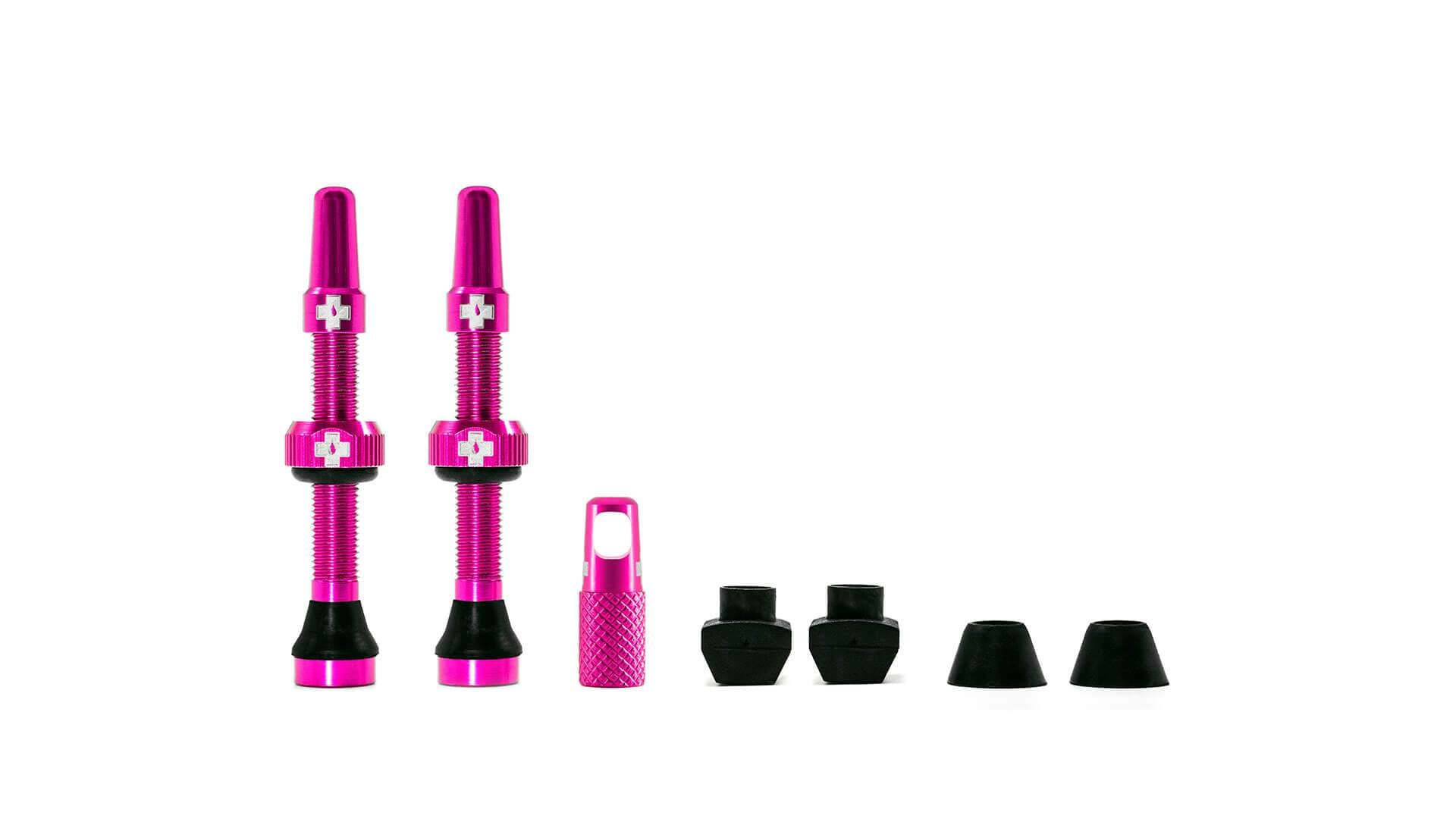 Muc-Off Ventil, Tubeless Valve Kit, Pink