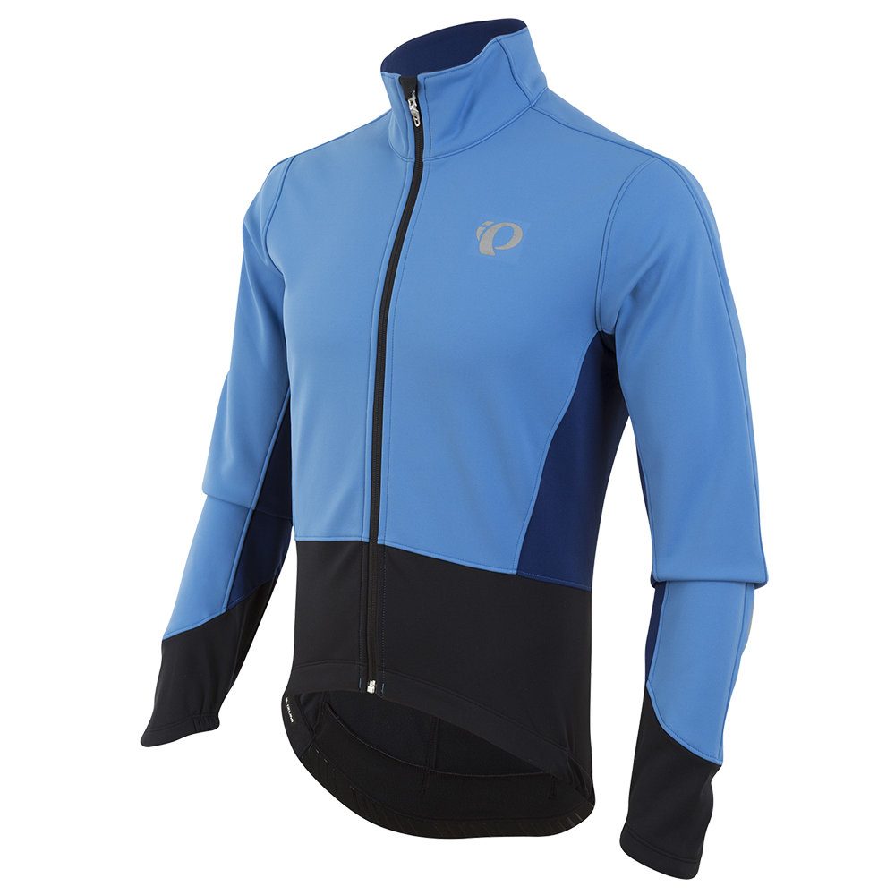 Pearl Izumi Jacka, Elite Pursuit Softshell, Blå/Svart