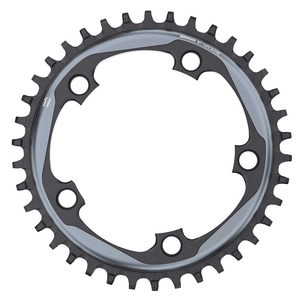 SRAM Drev, X-SYNC™ 11sp, 38-54t - 5 bult x 110 mm, Argon grey, Single