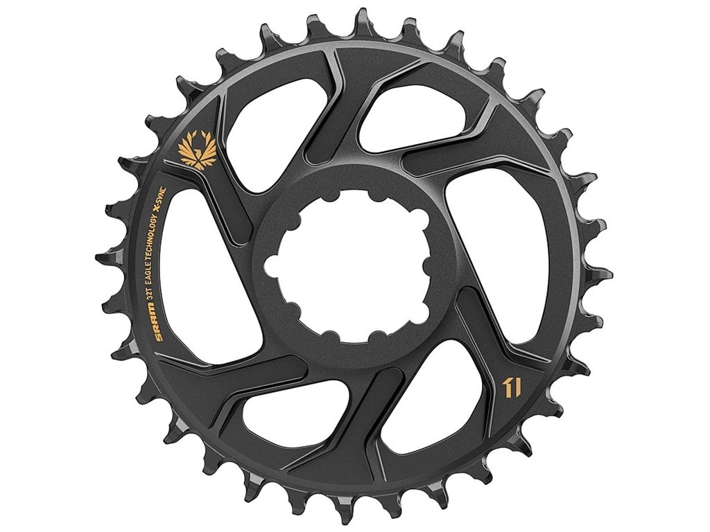 SRAM Drev, DM Eagle only for Boost 3mm Offset, 1x12 X-Sync, Svart/guld