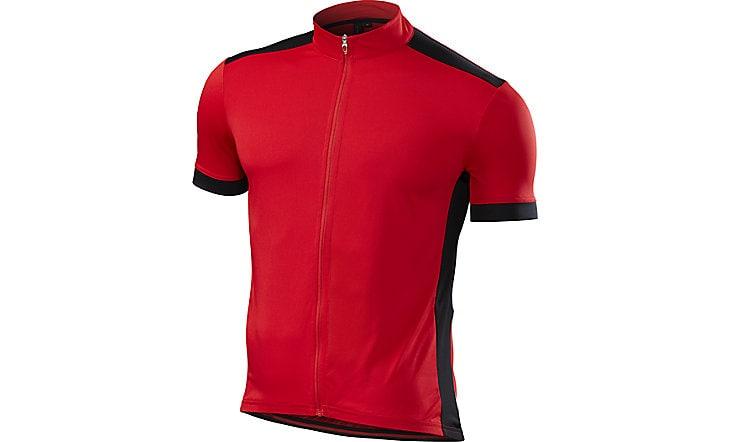 Specialized Tröja, Roubaix Sport Jersey SS, Röd/Svart