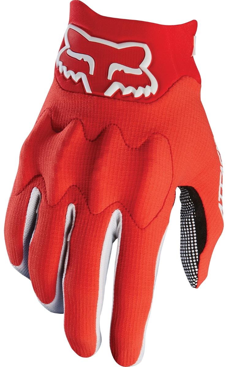 Fox Handske, Attack, Röd/Svart