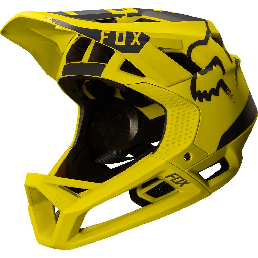 Fox Hjälm, Proframe Moth, Dark Yellow