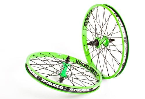 Xposure Hjul, BMX20, Grön