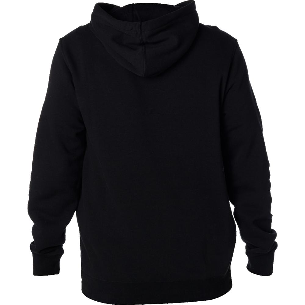 Fox Tröja, Listless Pullover Fleece, Black