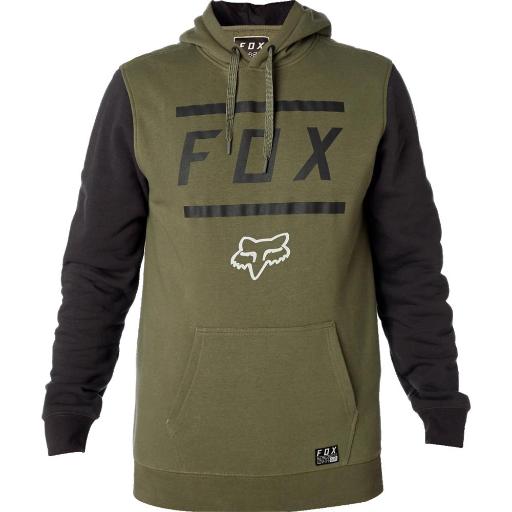 Fox Tröja, Listless Pullover Fleece, Fatigue Green