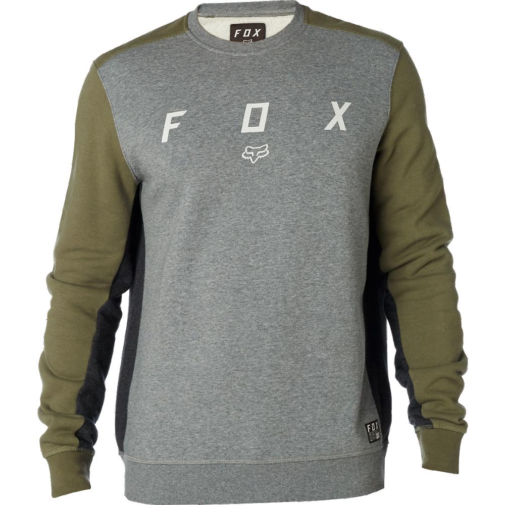 Fox Tröja, Harken Crew Fleece, Fatigue Green
