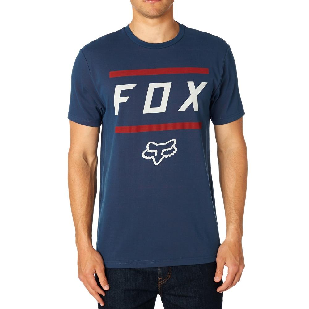 Fox Tröja, Listless Airline Tee, Navy/Red