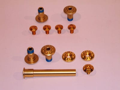 Scott Bult Kit, Golden Screw Set Spark/Scale/Genius