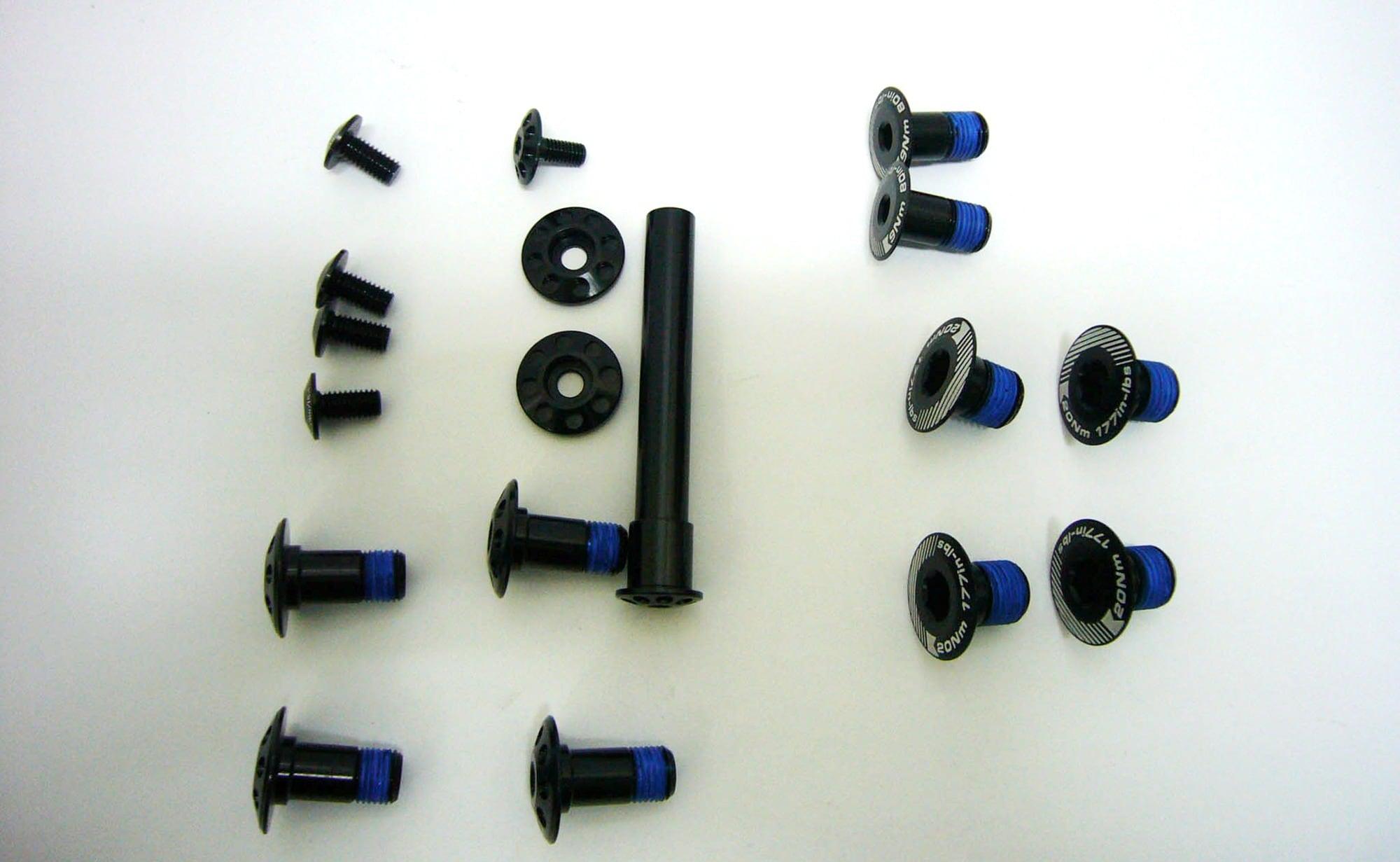 Scott Bult Kit, Black Screw Set Spark/Scale/Genius/Genius LT