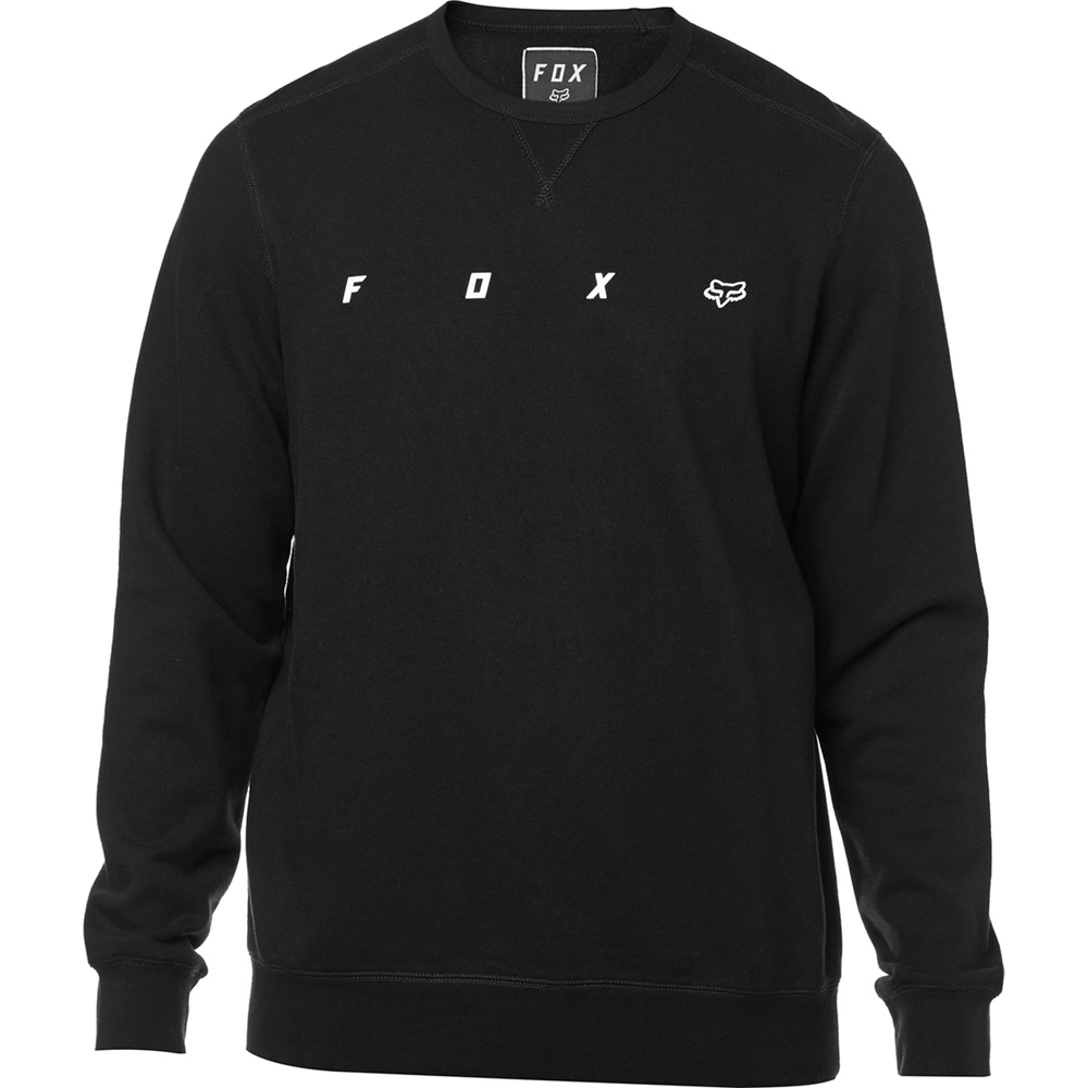 Fox Tröja, Maxis Crew Fleece, Black