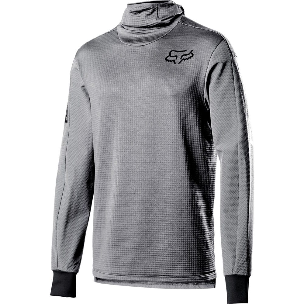 Fox Tröja, Defend Thermo Hooded, Steel Gray