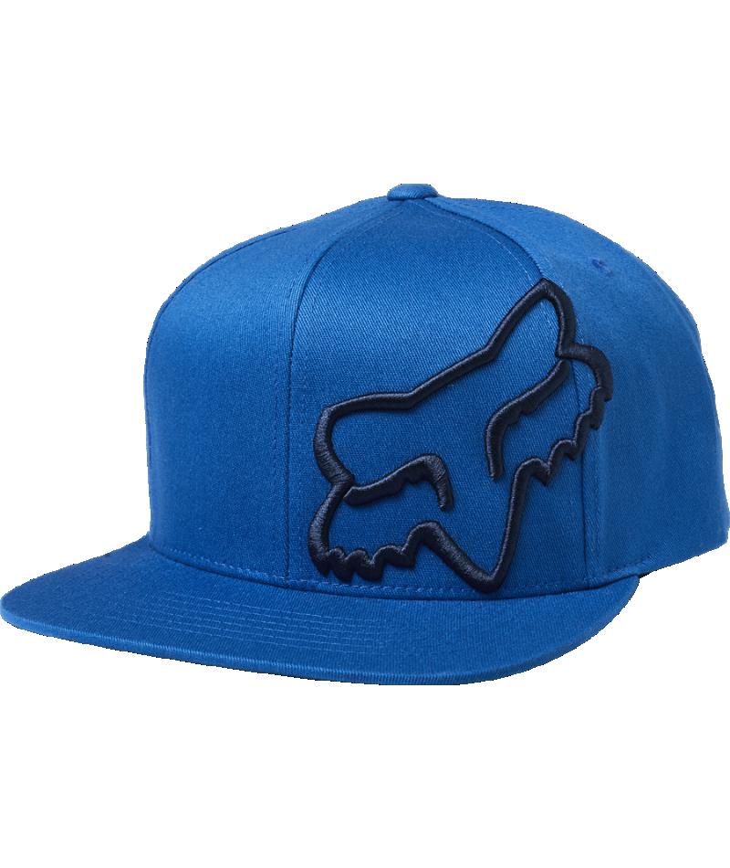 Fox Keps, Headers Snapback, Royal Blue