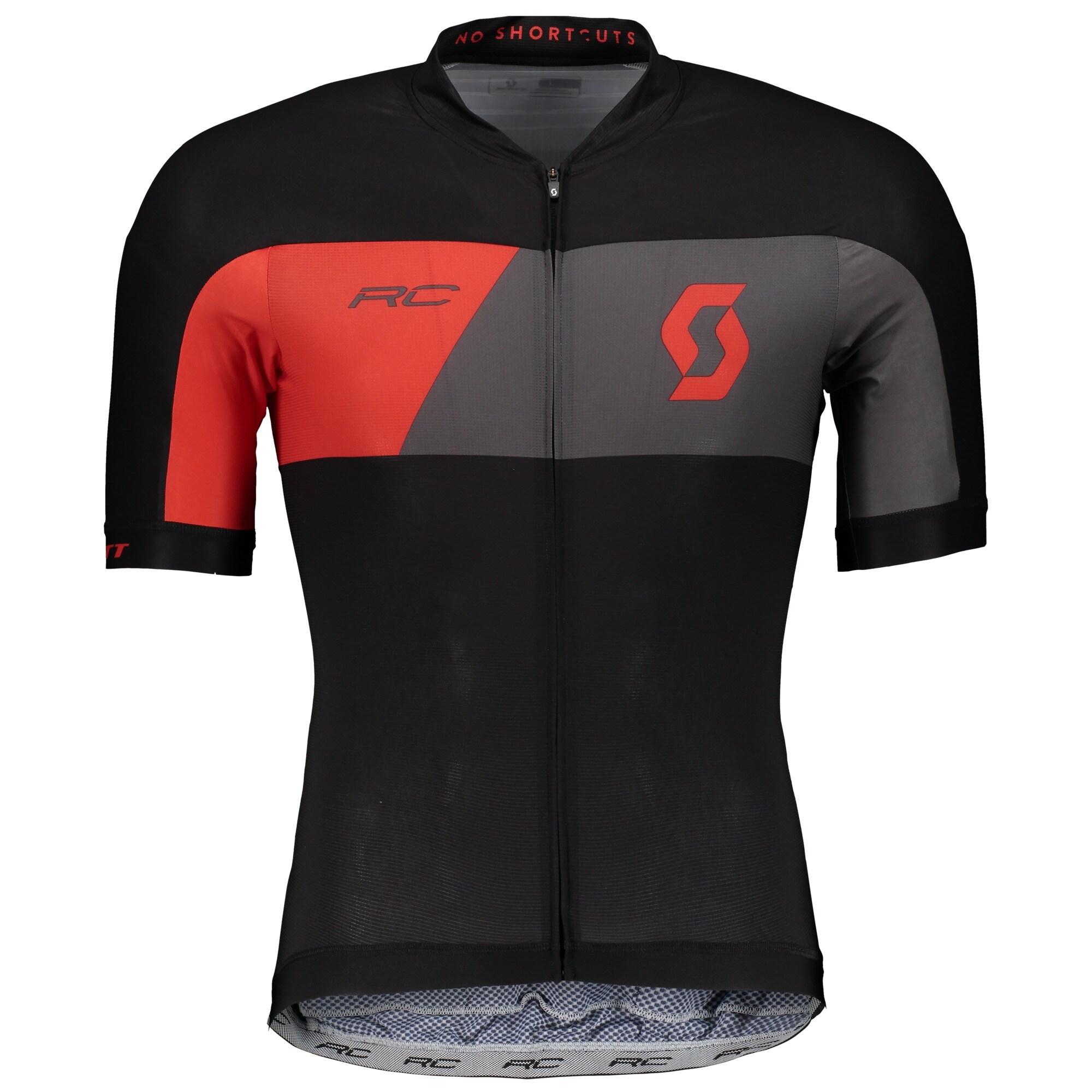 Scott Tröja, RC Premium S/SL, Svart/Röd