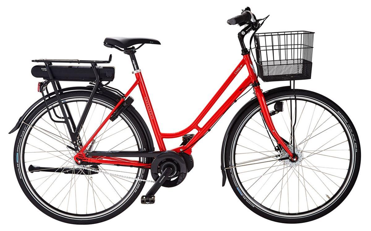 Skeppshult Cykel, cykEL 7, Innerligt Röd Mettalic