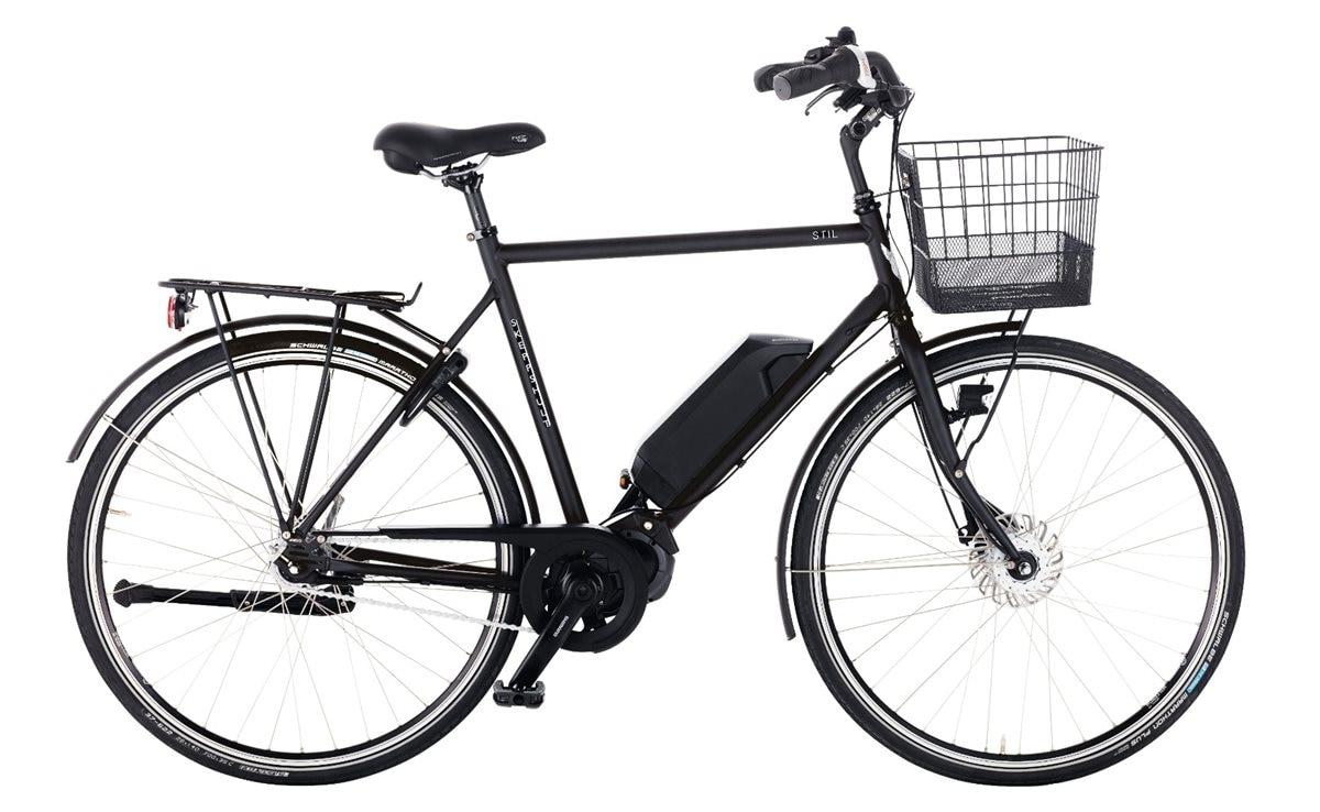 Skeppshult Cykel, Stil EL 7, Spegelsvart