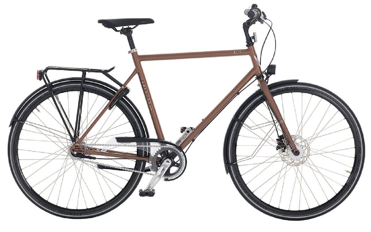 Skeppshult Cykel, Elit 7, Mahogny Matt