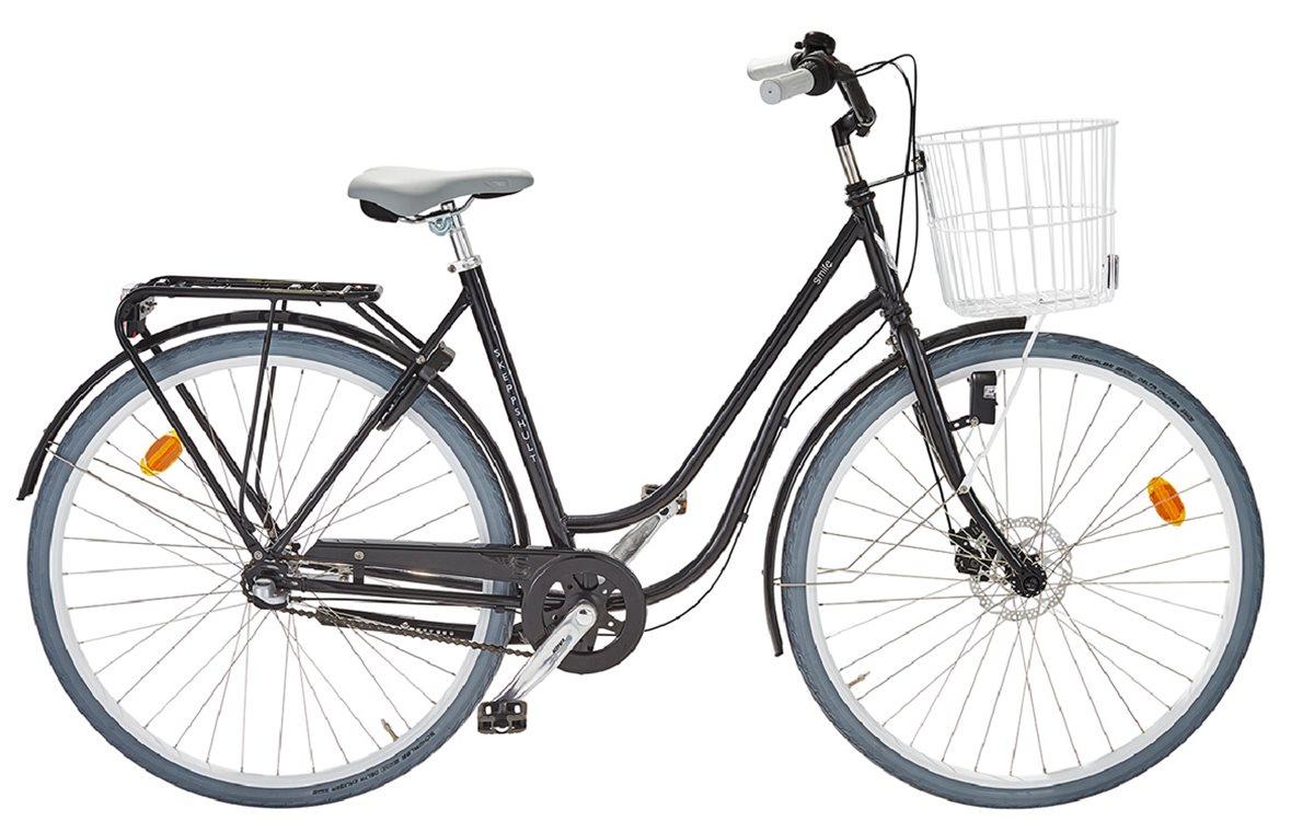 Skeppshult Cykel, Smile 3, Spegelsvart