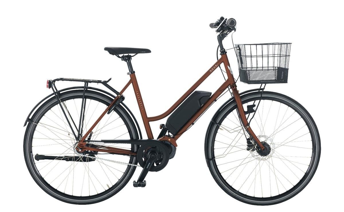 Skeppshult Cykel, Nova Sport EL 5 Di2, Mahogny Matt