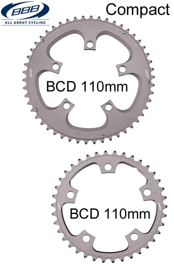 BBB Drev, Compact Gear 5/110 Shimano/SRAM/Specialized m.m.
