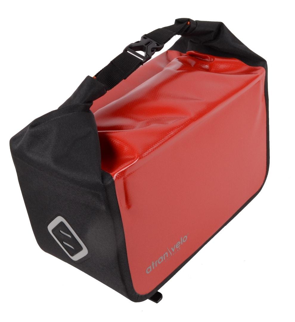 Atran Velo Pakethållarväska, Travel - Top Bag, Diverse Färgalternativ