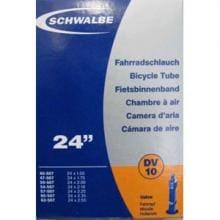 Schwalbe Slang, DV10, 24x1.7-2.3 (40/62-507) Dunlopventil