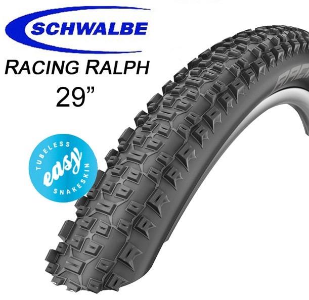 "Schwalbe Däck, Racing Ralph SnakeSkin TL-Easy, 29"""