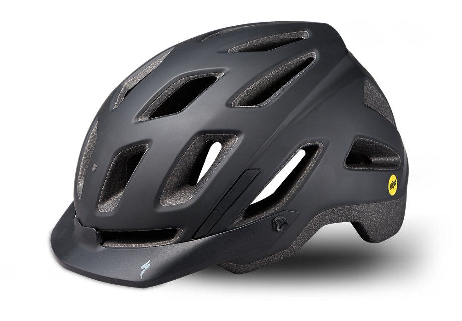 Specialized Hjälm, Ambush Comp e-Bike w/ANGi, Black