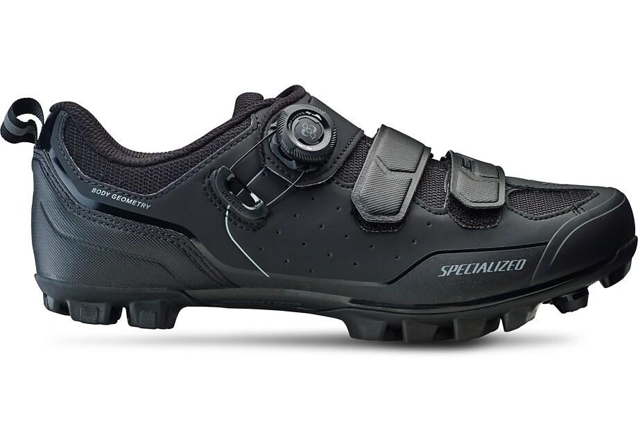 Specialized Sko, Comp MTB, Black/Dark Grey