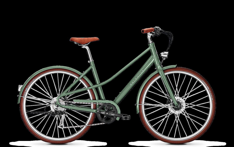 Kalkhoff Cykel, Scent Flow 2018, Mineralgreen