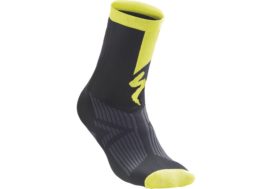 Specialized Socka, SL Elite Winter, Black/Neon Yellow