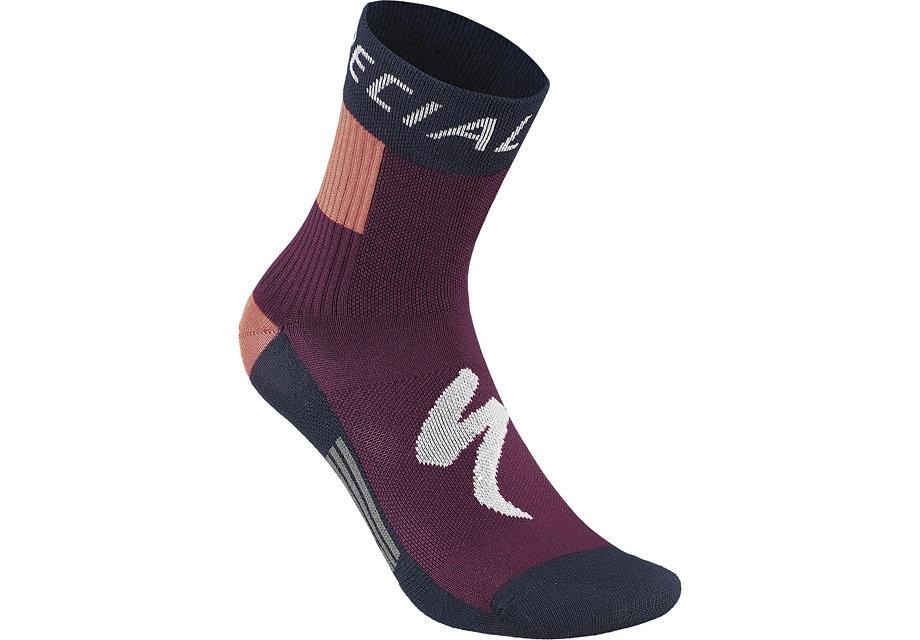 Specialized Socka, RBX Comp Women's Winter, Blue/Pink/Purple