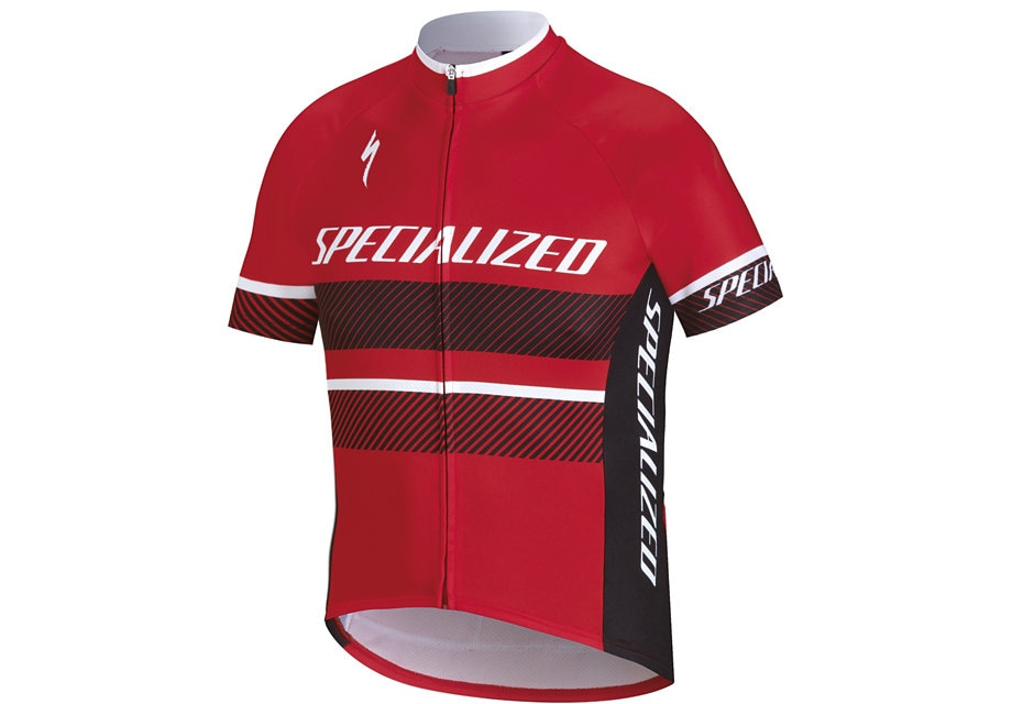 Specialized Tröja, RBX Comp Logo Youth SS Jersey, Red/Black