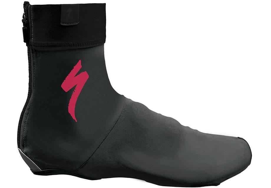 Specialized Skoöverdrag, S-Logo, Black/Acid Red
