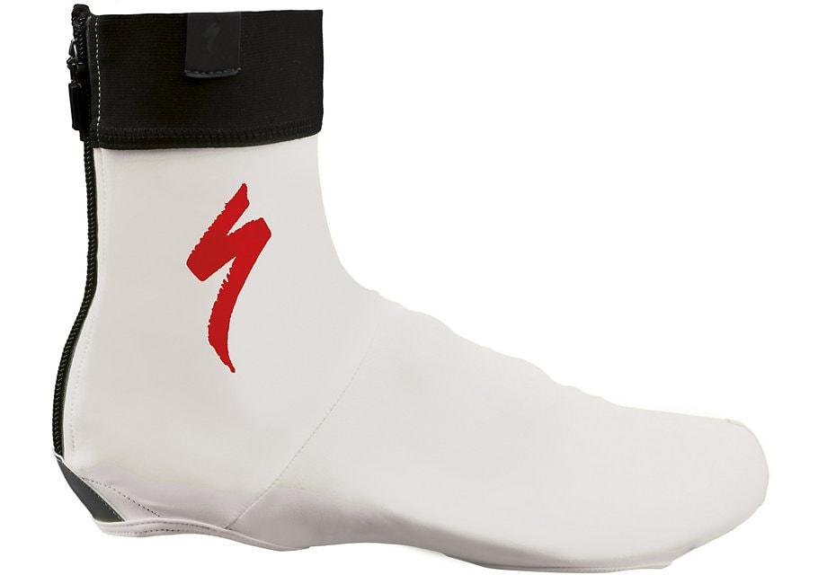 Specialized Skoöverdrag, S-Logo, White/Red