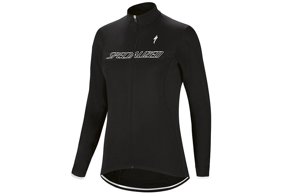 Specialized Tröja, Therminal RBX Sport Logo Woman LS, Black/White