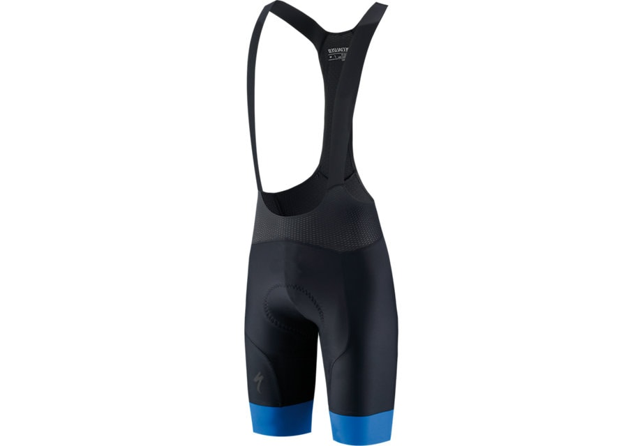 Specialized Byxa, SL R Bib Short, Black/Blue