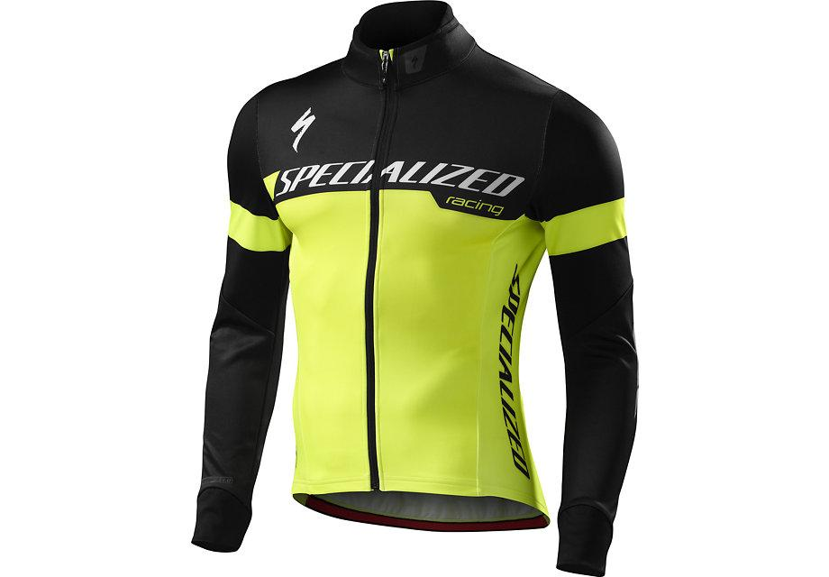 Specialized Jacka, Element 1.0 Jacket, Neon Yellow/Black Team