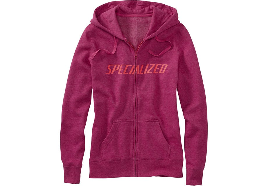 Specialized Tröja, Podium Hoodie Women, Berry/Acid Red