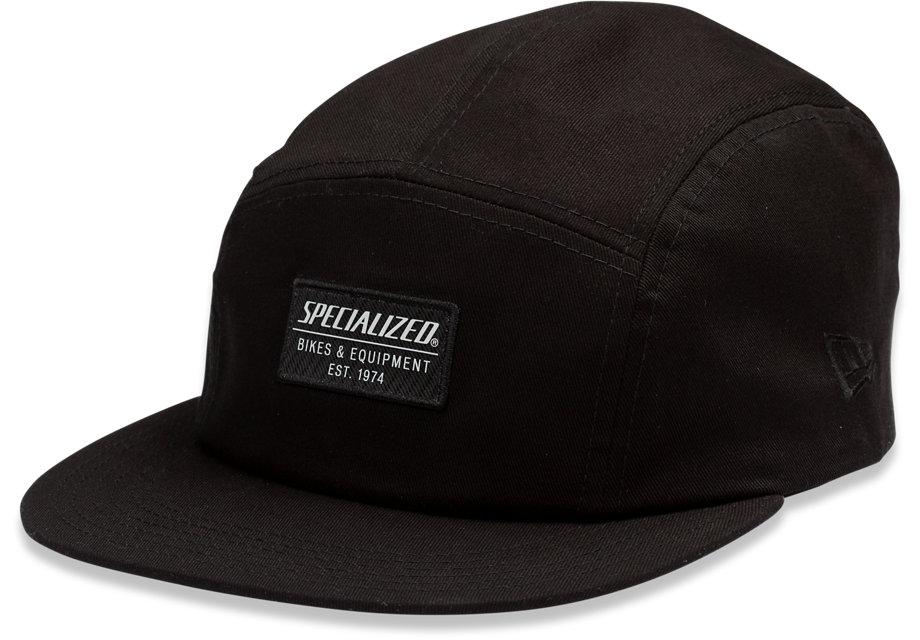 Specialized Keps, New Era 5-Panel Specialized Hat, Black