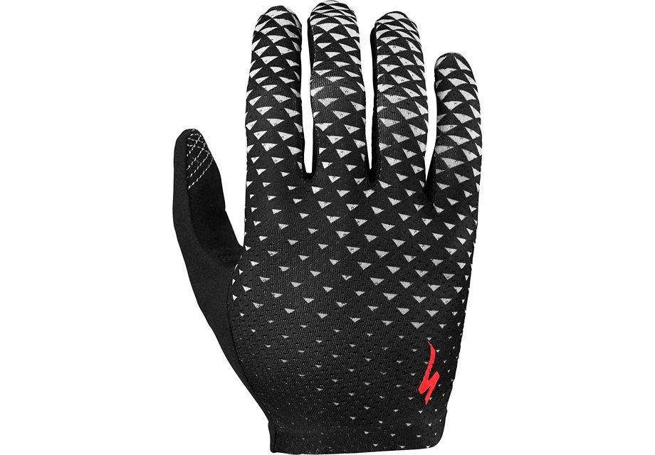 Specialized Handske, Grail Long Finger, Black/Stone