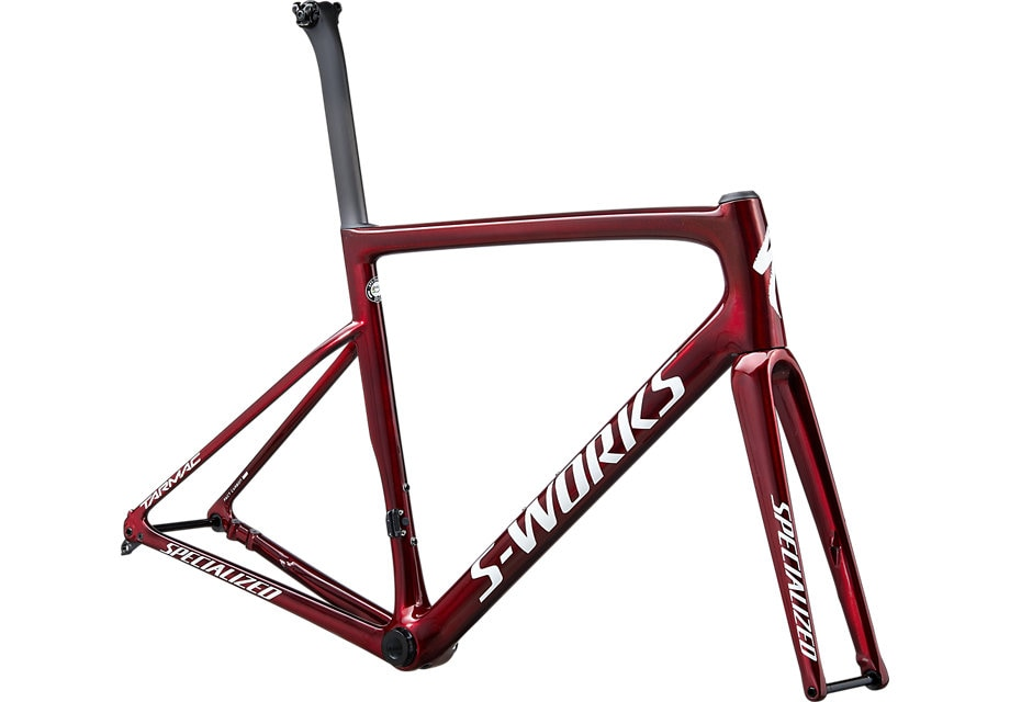 Specialized Ram, Tarmac Disc S-Works 2020, Gloss Spectraflair/Red Tint/Metallic White Silver