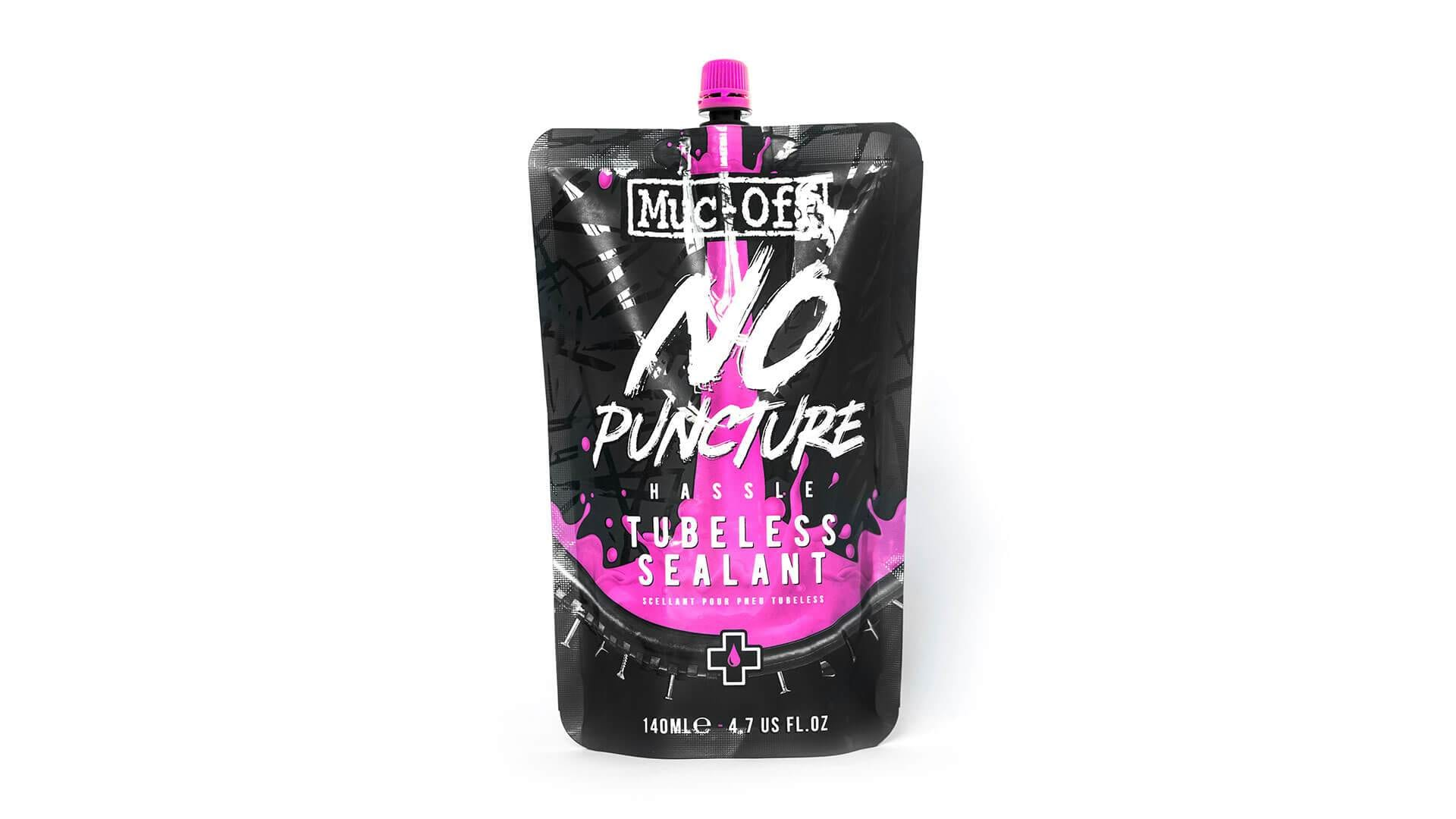 Muc-Off Tätningsmedel, No Puncture Hassle Tubeless Sealant Kit